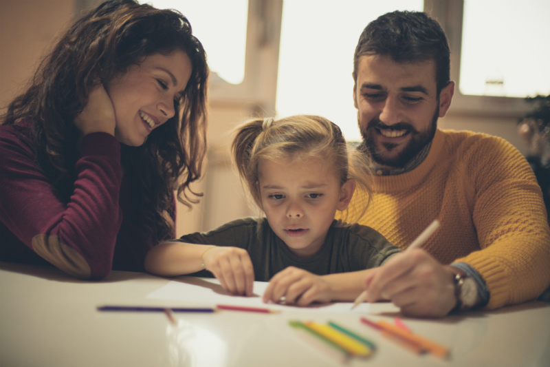 Online discussion on family literacy