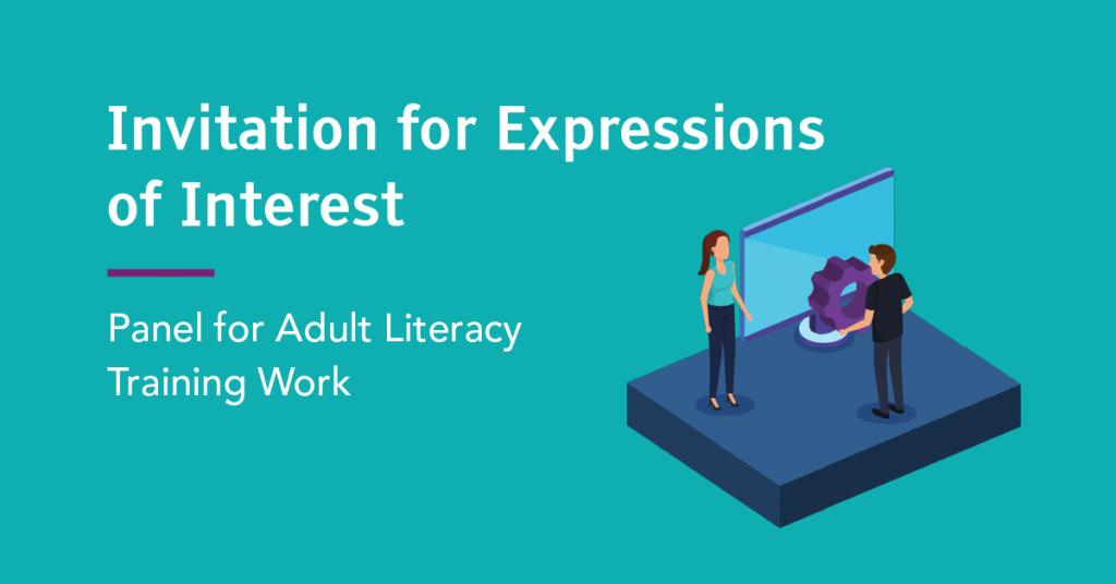 Adult Literacy Training Work