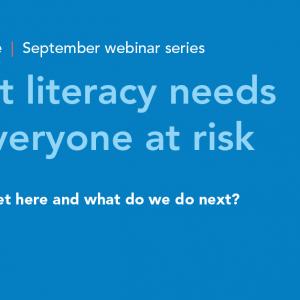 Literacy webinar 10 September