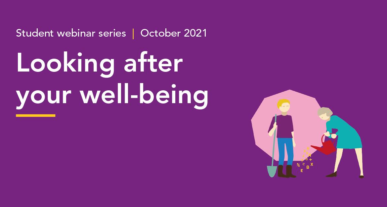 Wellbeing Student webinar series