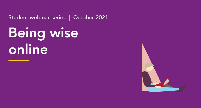 Wise online Student webinar series