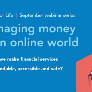 Managing money webinar